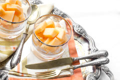 Melon dessert Royalty Free Stock Photo