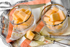 Melon dessert Royalty Free Stock Photos