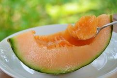 Melon dla deseru Zdjęcia Royalty Free