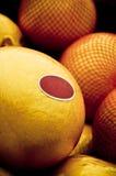 Melon et détail d'étiquette Photos libres de droits