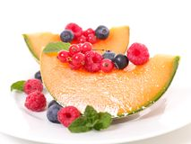 Melon and fruits Stock Photo