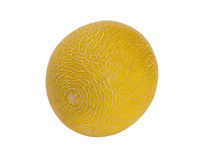 Melon Galia , isolated on the white. Background Stock Photo