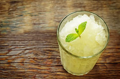 Melon granita Stock Photo