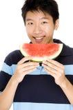 Melon heureux Image libre de droits