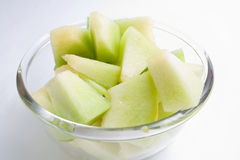 Melon honeydew portion Stock Photo