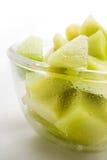 Melon honeydew portion Stock Image