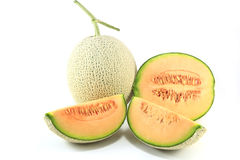 Melon isolated on white background Royalty Free Stock Photo