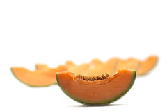 Melon isolated Stock Image