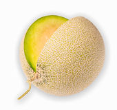 Melon isolated on white background. A melon isolated on white background Stock Images