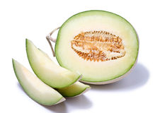 Melon isolated on white background. Royalty Free Stock Photo