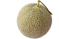 Melon from Japan in isolation. Melon from Japan on white background in isolation Stock Images