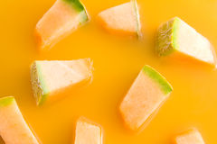 Melon juice Stock Photography