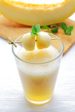 Melon juice Royalty Free Stock Photo
