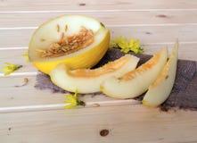 Melon juteux images stock