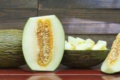 Melon, kantalup zdjęcia stock