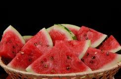 melon koszykowa woda Zdjęcia Royalty Free