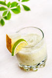 Melon and lime cocktail Royalty Free Stock Photos