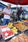 At Farmers market Royalty Free Stock Photos