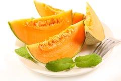 Melon mennica i plasterki obrazy royalty free