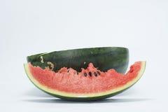 Melon odizolowywa na białym tle zdjęcia stock