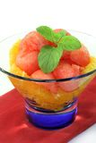 Melon orange salad Stock Images