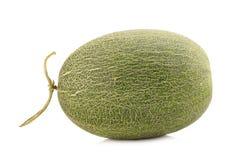 Melon på vit royaltyfri bild