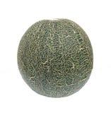 Melon på vit bakgrund Royaltyfria Bilder