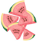 Melon pieces Stock Photos