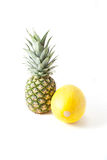 Melon and pineapple Royalty Free Stock Photos
