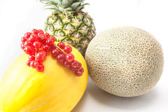 Melon and pineapple Royalty Free Stock Photography