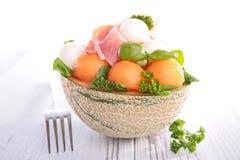 Melon salad Stock Photography