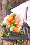 Melon salad Royalty Free Stock Photos