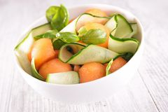 Melon salad Stock Image
