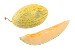 Melon and slice Stock Photos