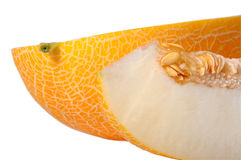 Melon with a slice Royalty Free Stock Image