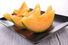 Melon sliced Stock Image