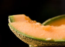 Melon slices Stock Image