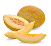 Melon with slices Royalty Free Stock Photo