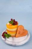 Melon slices Stock Photos