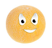 Melon smiley Royalty Free Stock Images