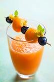 Melon smoothie Stock Photos