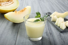 Melon smoothie Royalty Free Stock Image