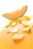 Melon soup Royalty Free Stock Images