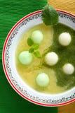 Melon soup Stock Photography