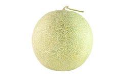 Melon sur le fond blanc photographie stock libre de droits