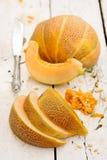 Melon on the table Royalty Free Stock Photos