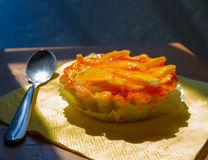 Melon tart Stock Photography