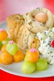 Melon toast Stock Image