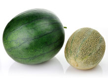 Melon and watermelon Stock Photos