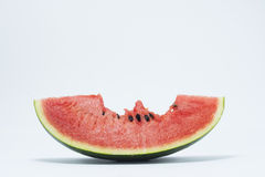 Melon on the white background. Melon isolate on the white background stock image